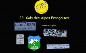 Cols Alpes plus 2000
