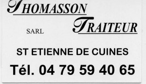 thomasson traiteur