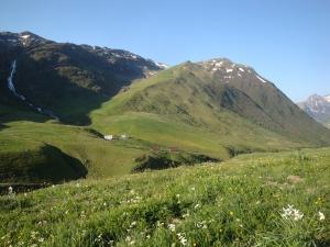 dans les alpages du Glandon