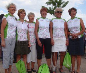 """les """"top girls"""" du CTG avant le grand départ pour Strasbourg"""
