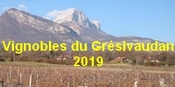 Vignobles du Grésivaudan 2019