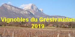 Vignobles du Grésivaudan 2019