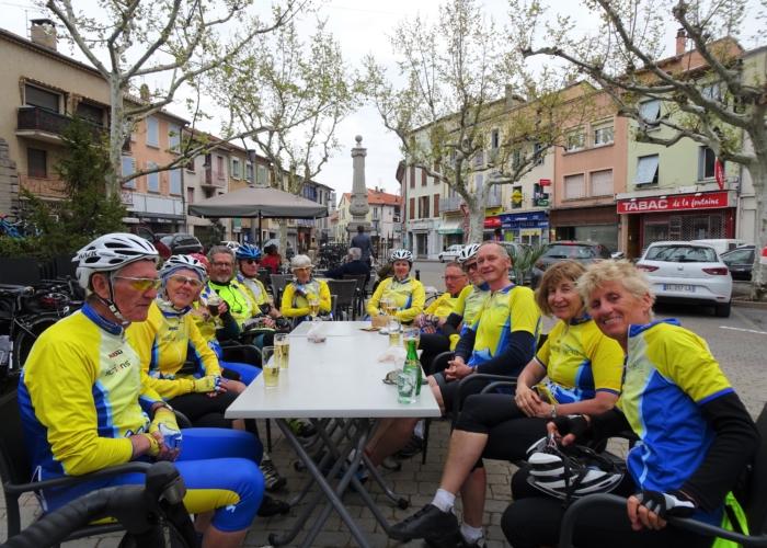 19 rencontre avec le groupe des Romanais Péageois à Laragne