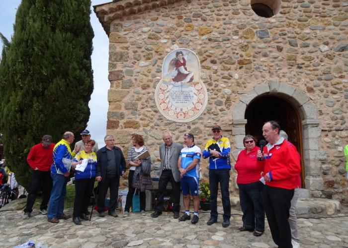 6 accueil par le maire d'Upaix et la conseillère départementale du canton de Laragne