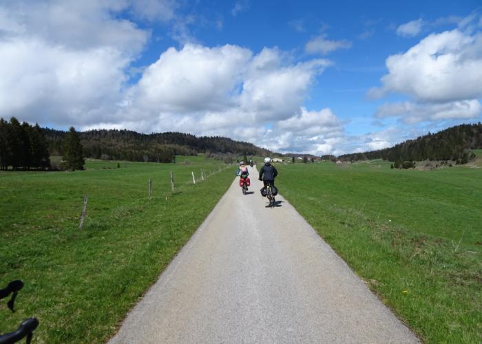 les routes à vélo suisses