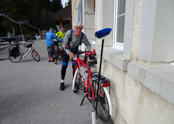 vélo balai
