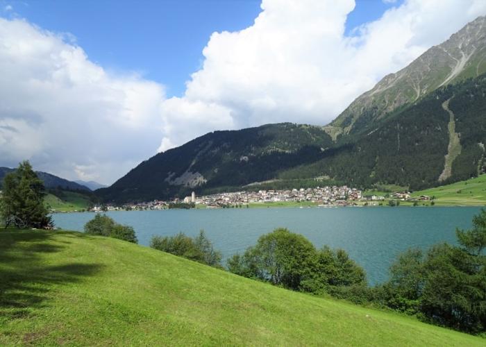 village de Resia (Italie)