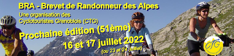 BRA : Brevet de Randonneur des Alpes